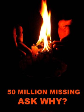 ask why_50 million missing